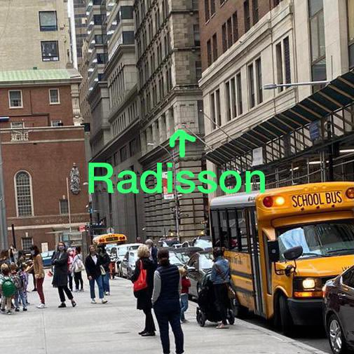 Taken 10/5 at 3pm school pick ups. 235 homeless men moving to @radisson at #52williams week of 10/19. @NYCMayor won't disclose plans. @NYDailyNews @nypost @tribecacitizen @Gothamist @DailyMailUK https://t.co/YEHLiOAblR