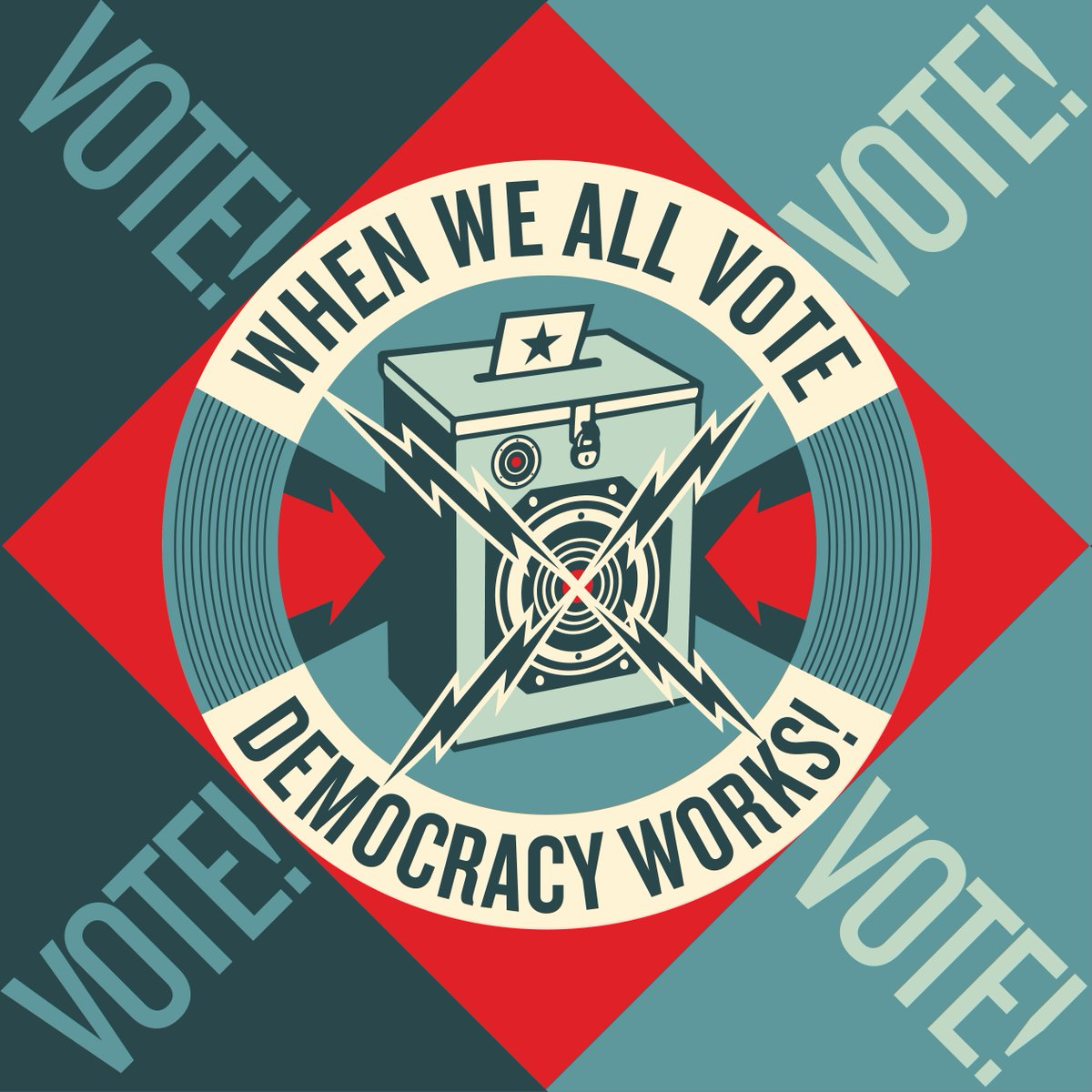 I'm proud to work with @whenweallvote to amplify the message of voting! Go to: https://t.co/cZrrO2b2Yg -S https://t.co/vOstvEk7w1