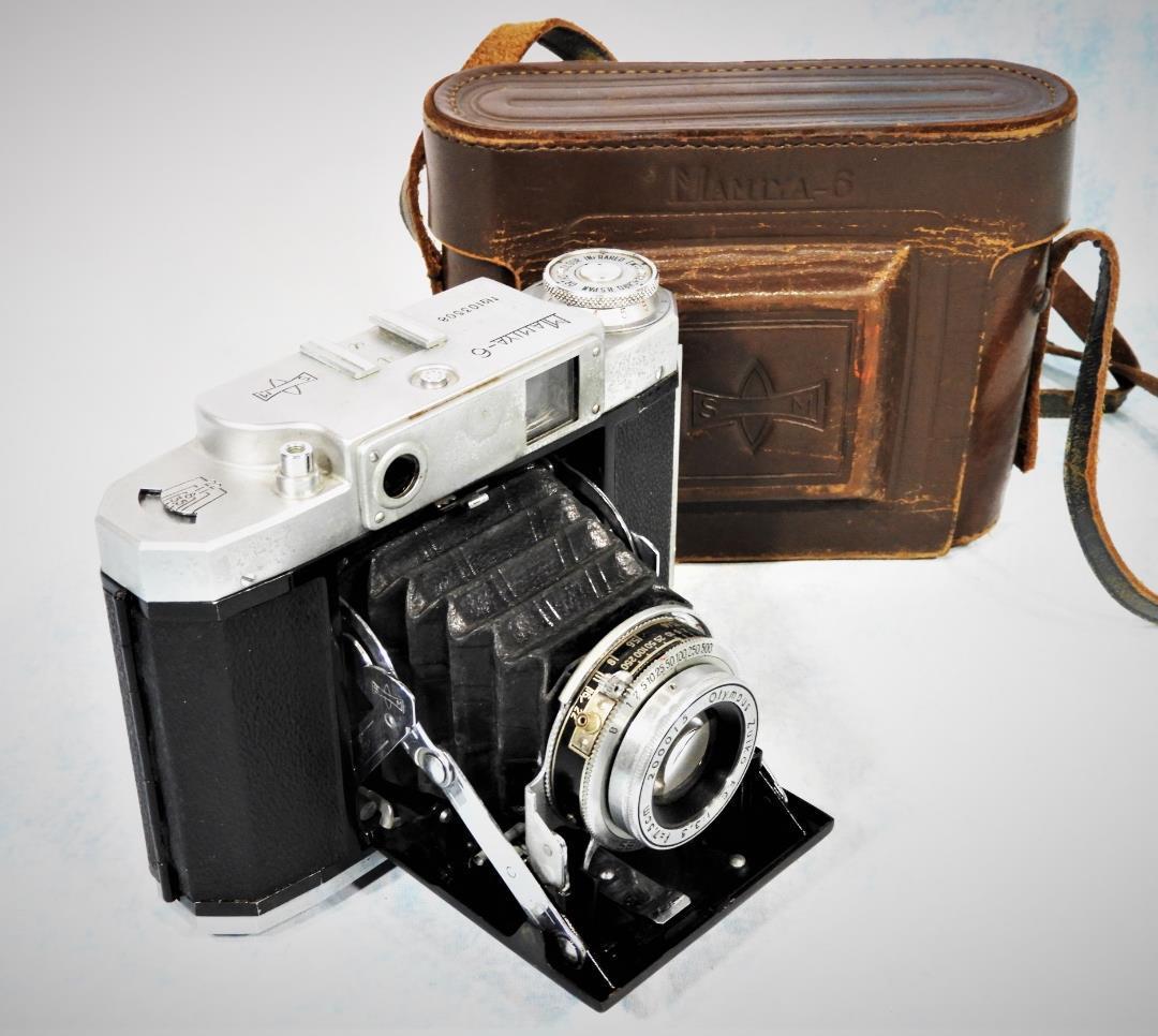 妻が叔父さんの遺品整理でマミヤ6という中判蛇腹カメラをもらってきた。こんなやつか?