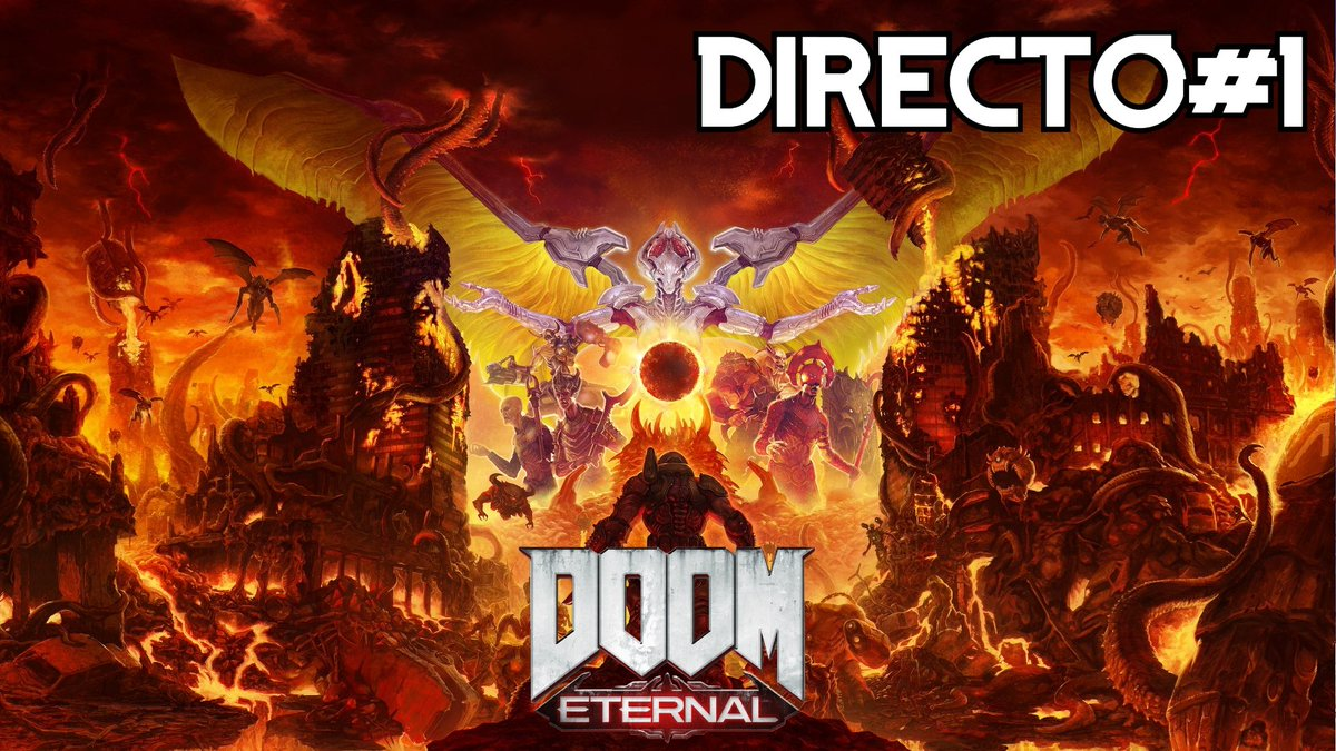 ⚠️Hoy 10 Pm. DOOM Eternal #1 - XBox One S - Directo SOLO por Youtube ⚠️  Youtube!  https://t.co/FbQxopXQvD  #elleu #doometernal  #xboxones #yaestapagado #gameplay #gameplays #elleuplays #instagamer #streamer #mexico https://t.co/kFe26z5gZ5