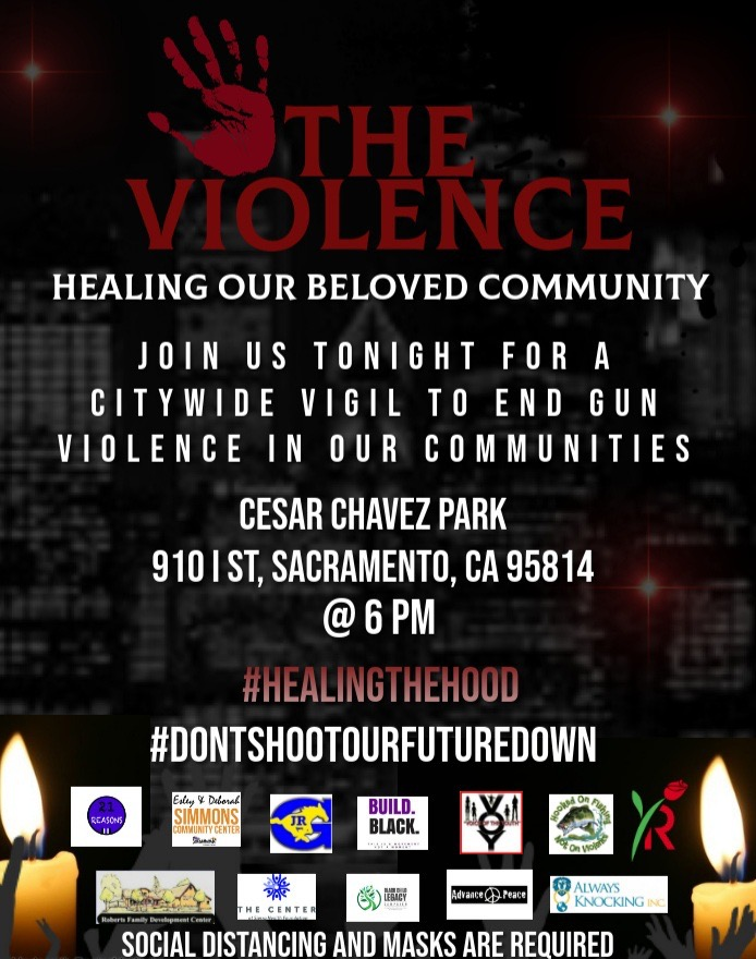 Join us tonight for a community vigil for peace and healing, and to stand in support of those who have lost beloved family and community members #healingthehood https://t.co/rTMkrS6tAr