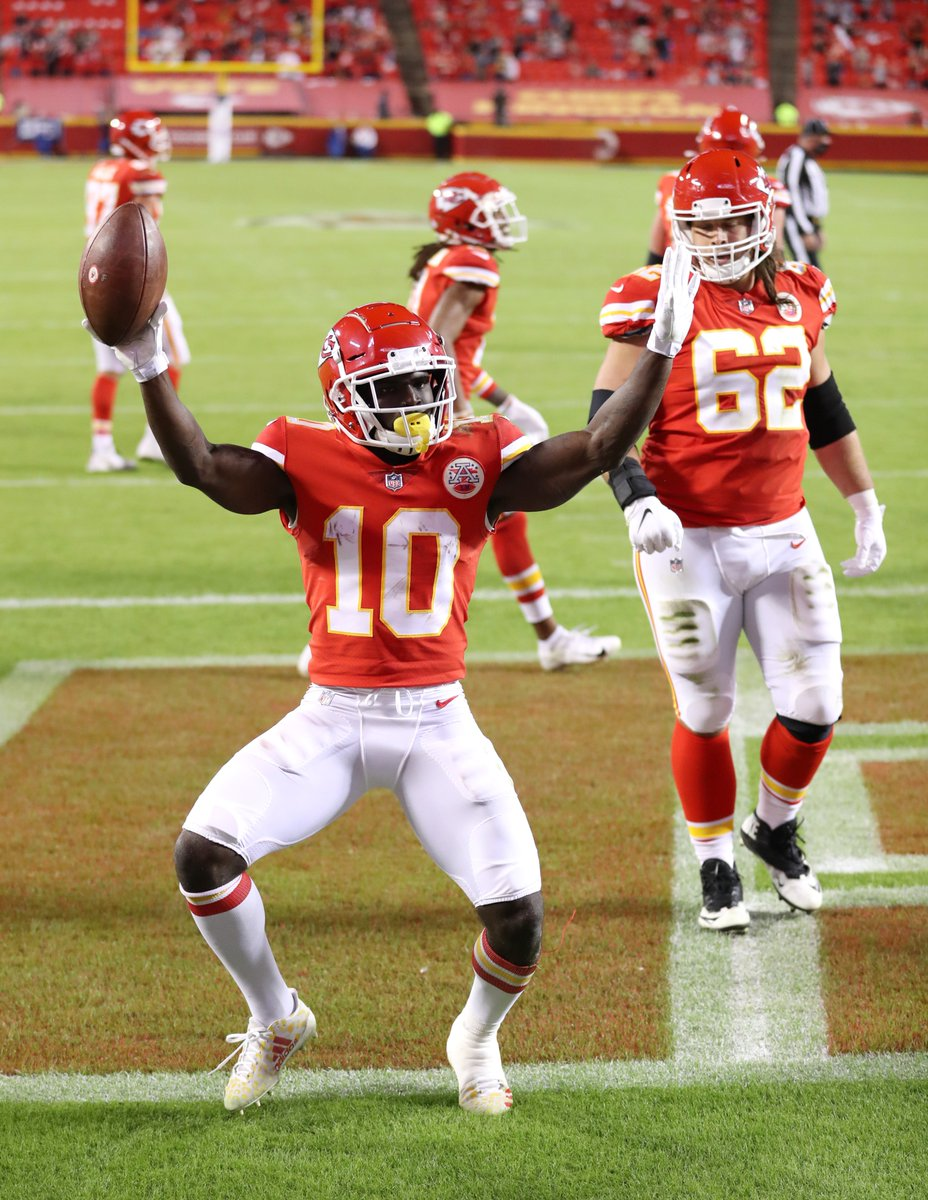The Chiefs are the first team in NFL history to start 4-0 in 4 consecutive seasons #ChiefsKingdom