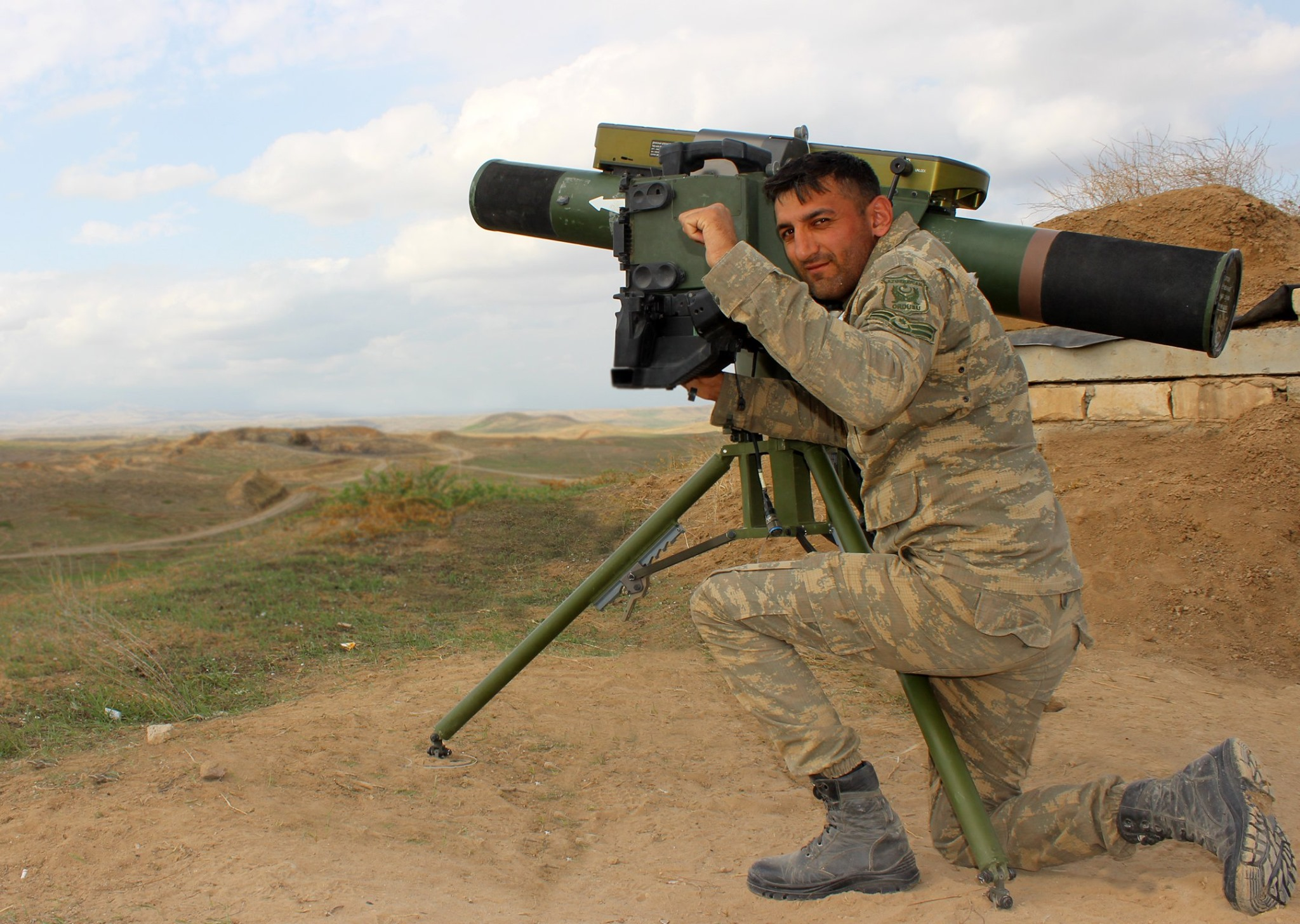 """Azerbaijan MOD on Twitter: """"The #hero of the April battles (6 tanks) in  2016 continues to #destroy Armenian armored vehicles. NCO #Tahir Misirkhanov  since SEP 27 destroyed 11 armored vehicles of the"""