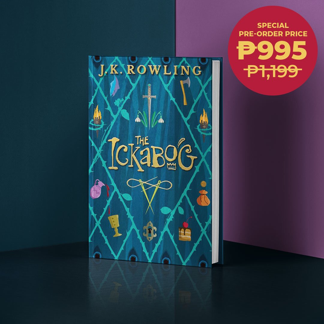 Pre-order The Ickabog by J.K. Rowling at a special pre-order price of only P995 (SRP: P1,199)! Visit this link: .   You have until October 15, 2020 to pre-order. #TheIckabog #JKRowling #NBSNewReads #NBSeveryday