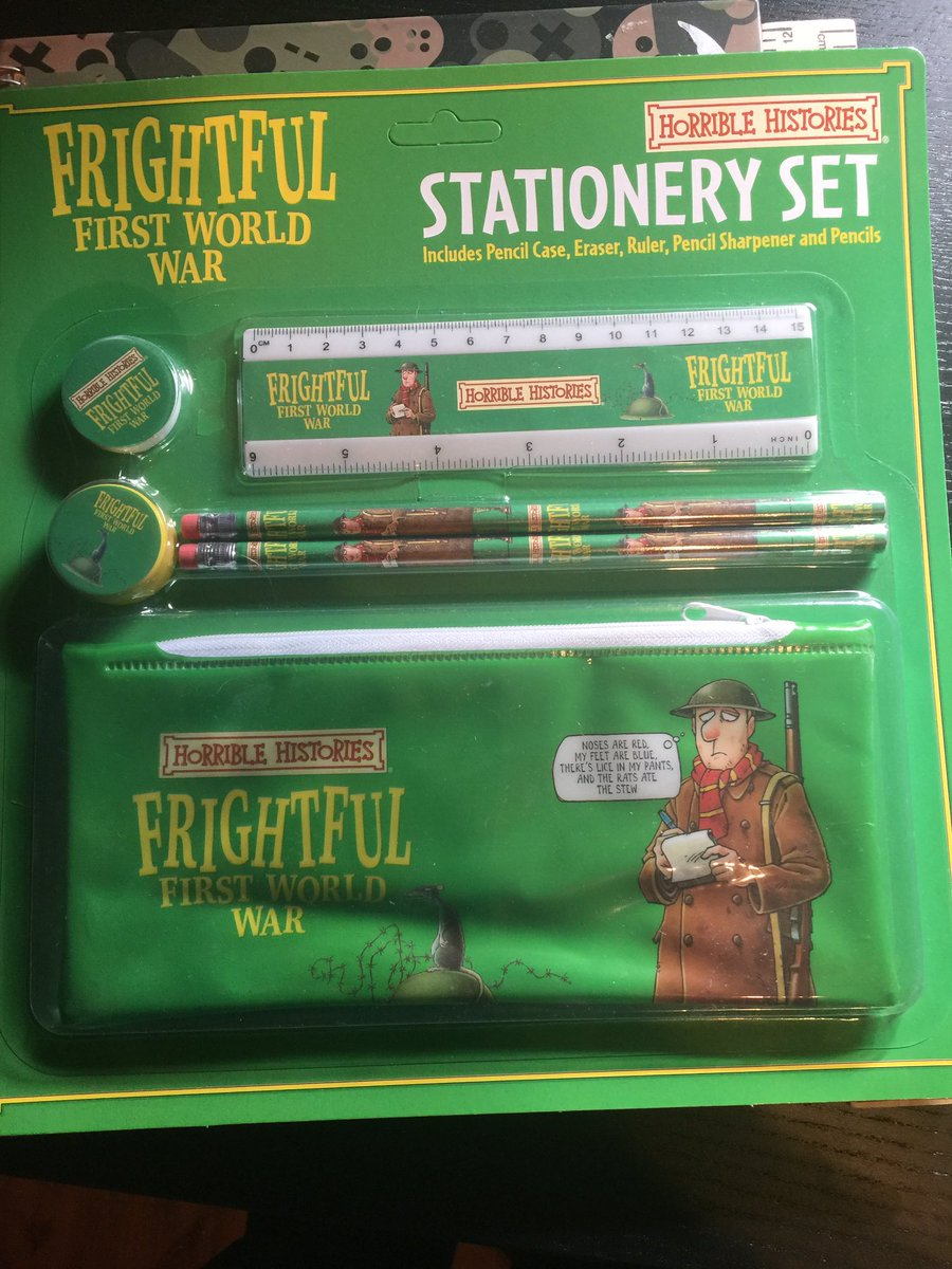 I am starting my MA this week , my mum has sent me up this pencil case. No doubt I will be the coolest kid in the class
