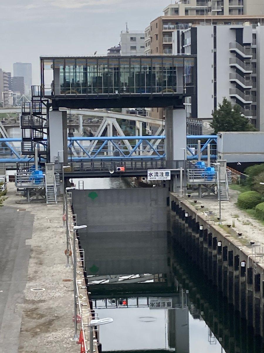 橋 クローバー 小名木 川