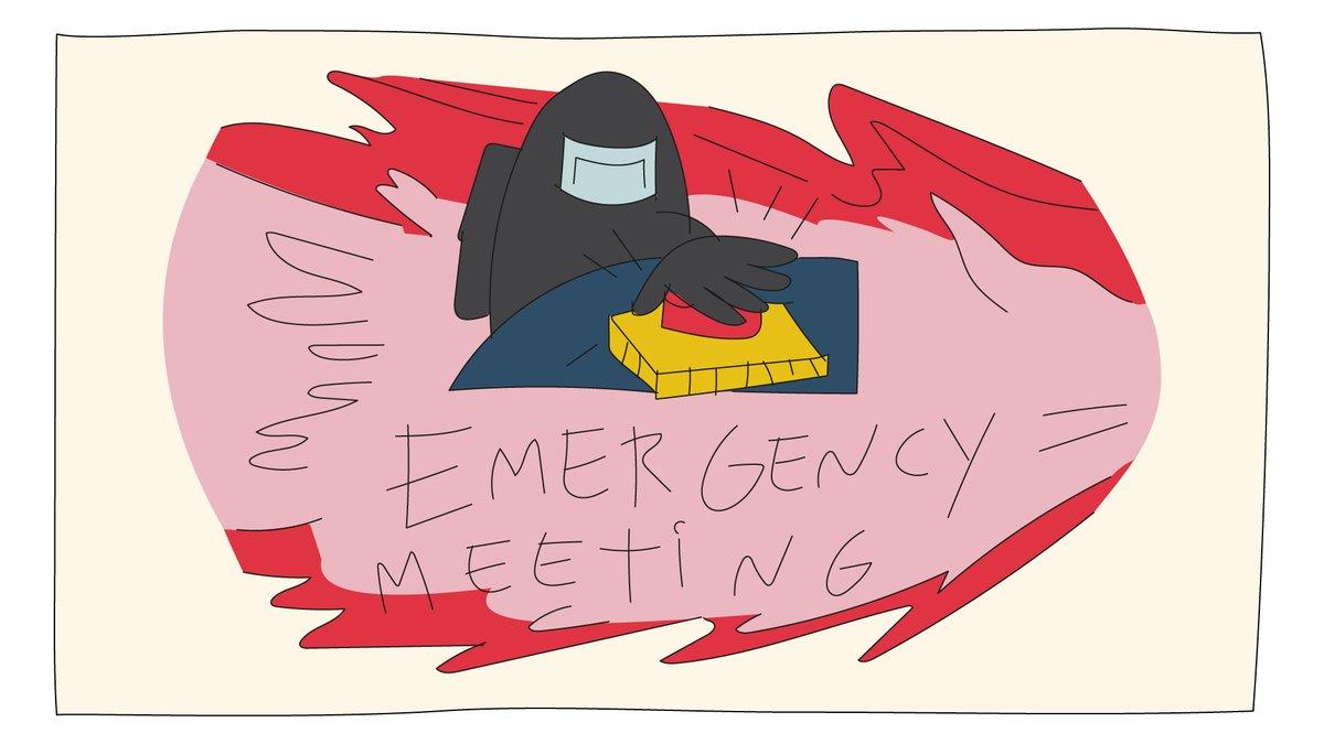 Usar la llamada de emergencia para pedirle a tus amigos unos GB porque vas justo de tanto viciar 🚨⚠️.   #FelizMartes #AmongUs #Emergency https://t.co/xl4ObwOIi6