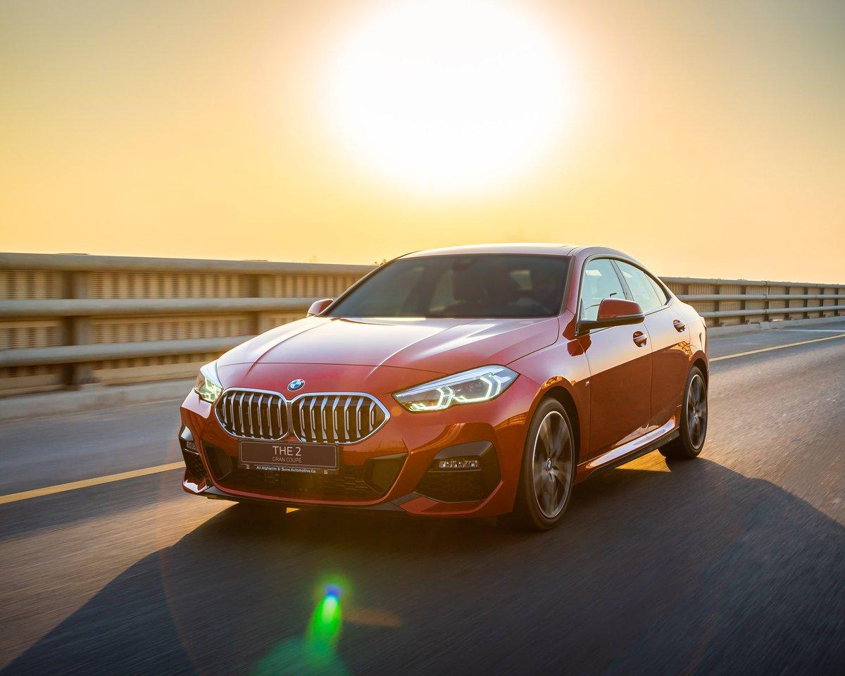 . اكتست بلون الشمس فتوشحت بالأحمر! سيارة BMW الفئة الثانية غران كوبيه  #BMW #ANABMW #AlialghanimSons https://t.co/FssGT574Hd