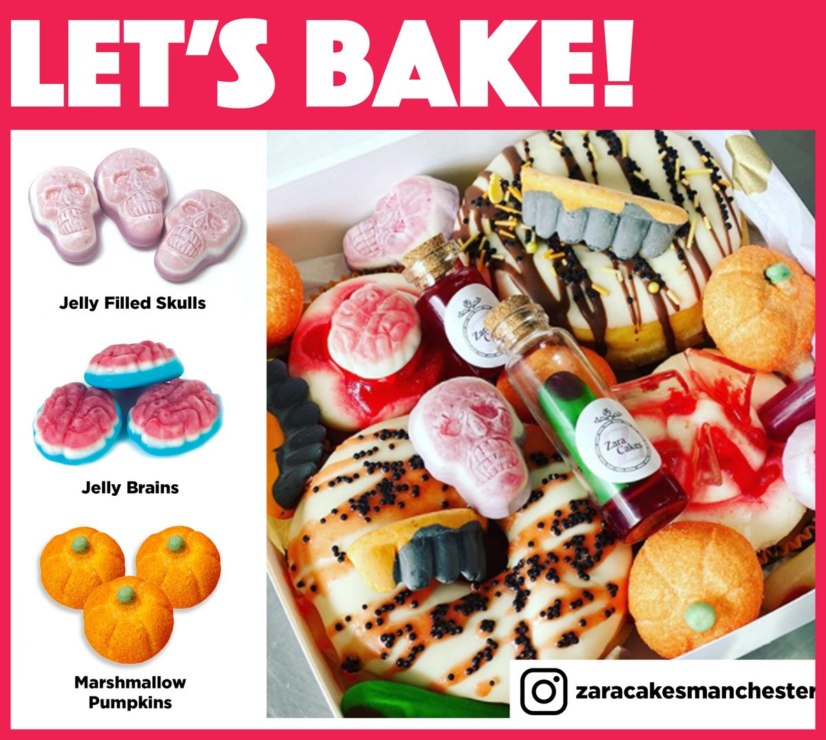 It's Bake Off day! It's bread week this week, and whilst we know that doughnuts are not strictly bread, these creations from @CakesZara looked too good not to share! 😋  Check out our pick & mix range at the link below and see what you can create!   https://t.co/7kreaEmCpf https://t.co/xNSi3DTGVB