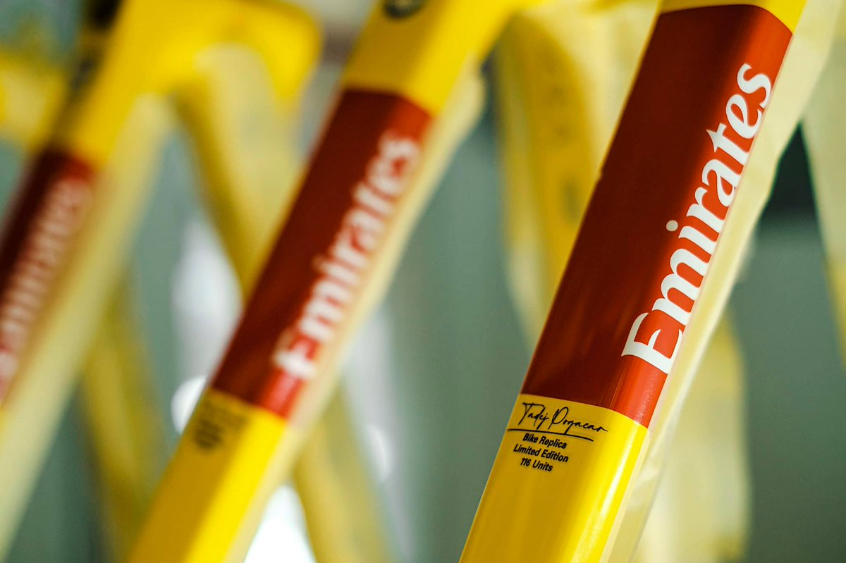 something in yellow is coming... #ridecolnago #colnago
