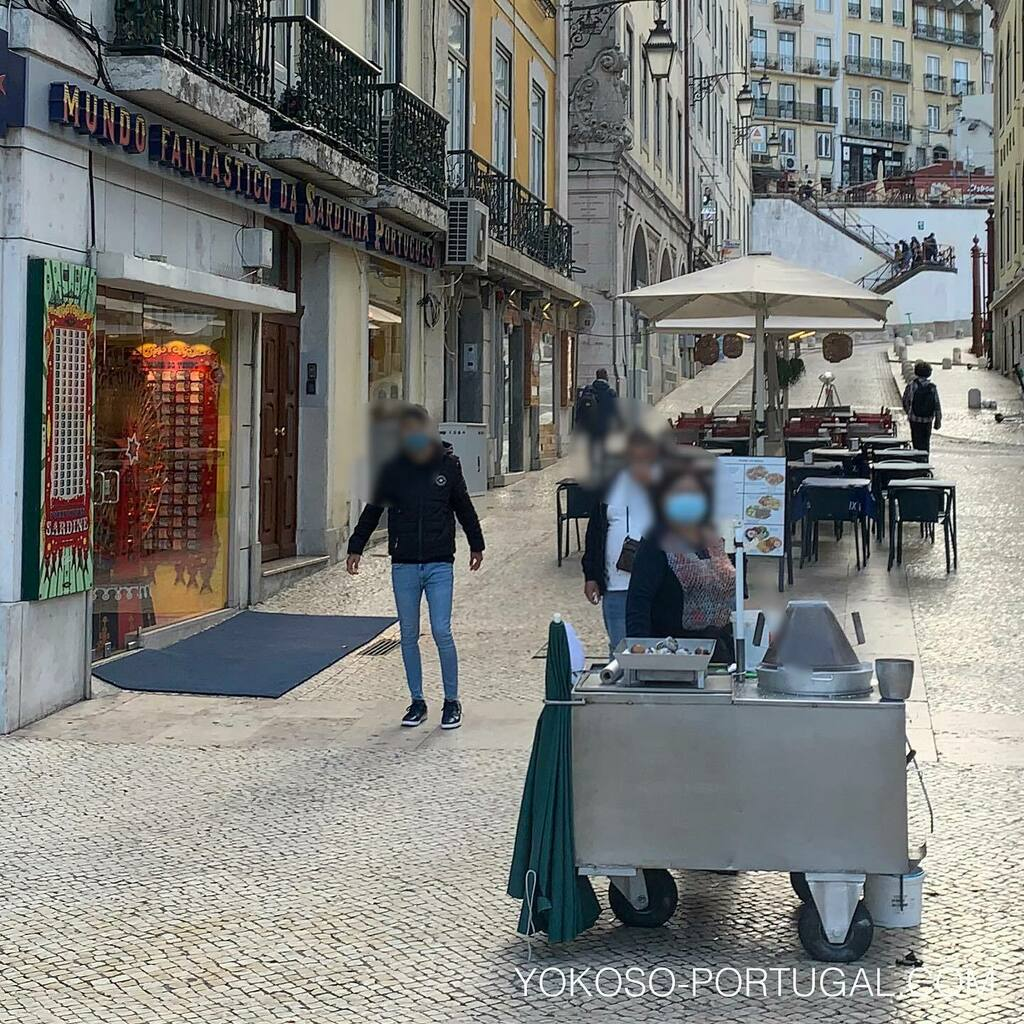 test ツイッターメディア - リスボンでは秋の風物詩、栗の屋台が出始めました。 #ポルトガル #リスボン #秋 https://t.co/uOXBZckjsL
