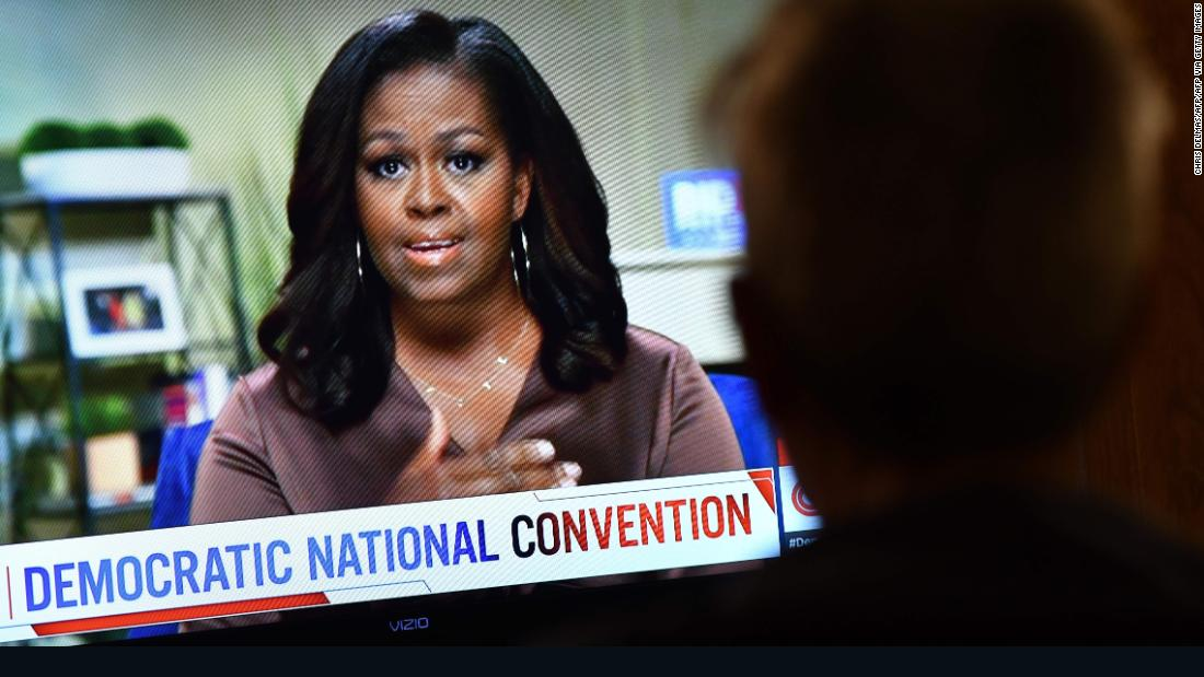 Michelle Obama releases closing campaign message: Vote for Biden like your lives depend on it cnn.it/3d205yc