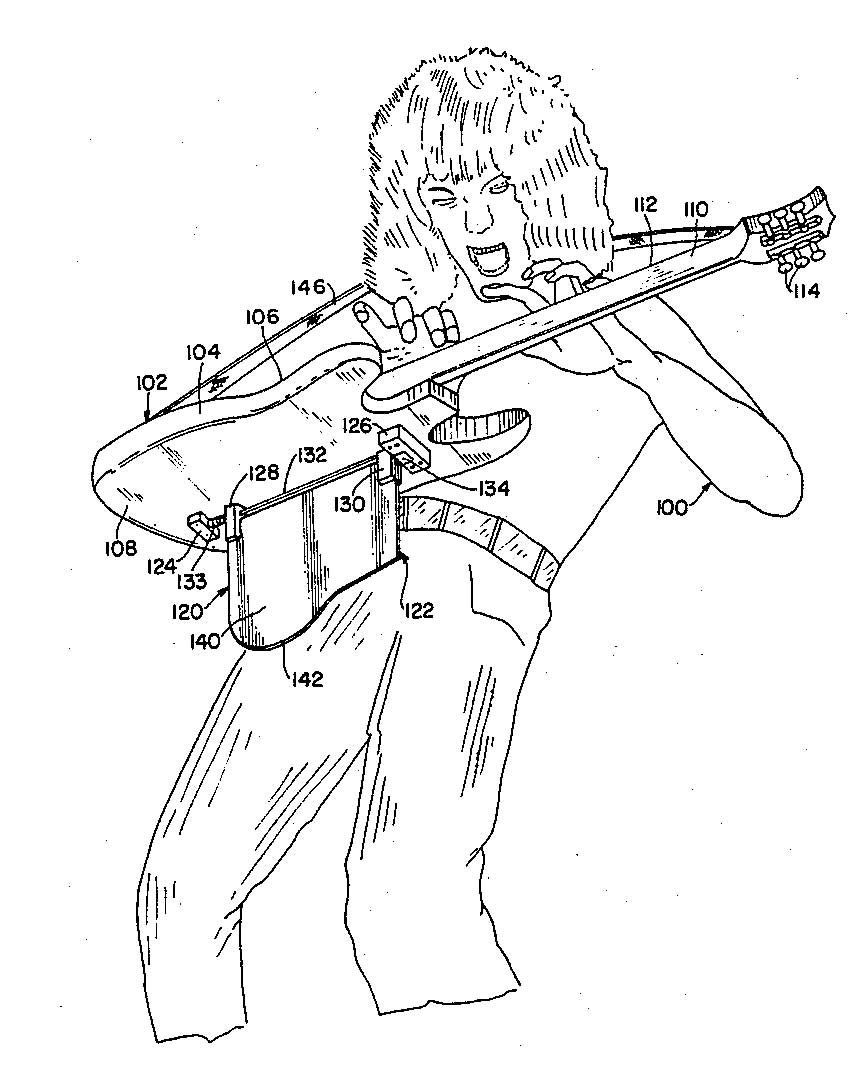 Eddie Van Halen has died. Many more eloquent than me will discuss his musical achievements, so I'll just note that he was owner and inventor of the patent with the baddest-ass diagram in the history of the U.S. Patent & Trademark Office https://t.co/R1ueaXNEsw https://t.co/svLbBs3qK8