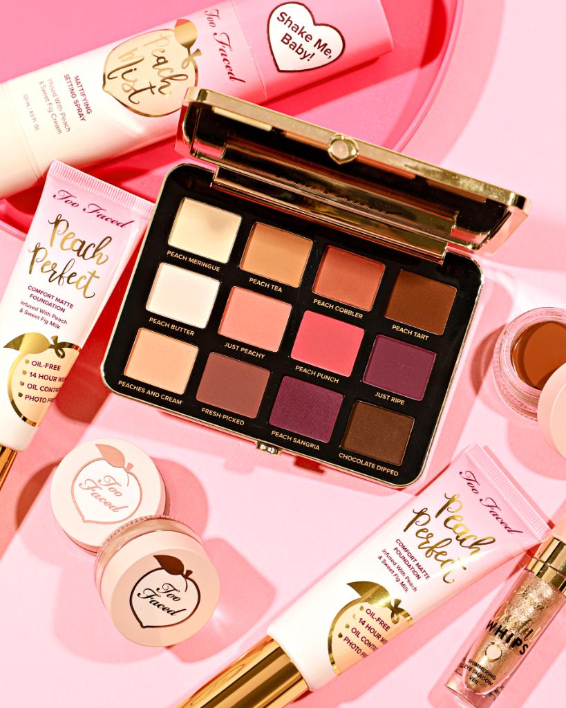 Servin' up some peach perfection! 🍑 Complete your look with the 12 matte shades of warm peaches, buttery creams, and rich browns in our Just Peachy Mattes Eye Shadow Palette. Shop it here: https://t.co/rUqO6cMitJ #toofaced #tfpeachesandcream https://t.co/HwBWj49nLT