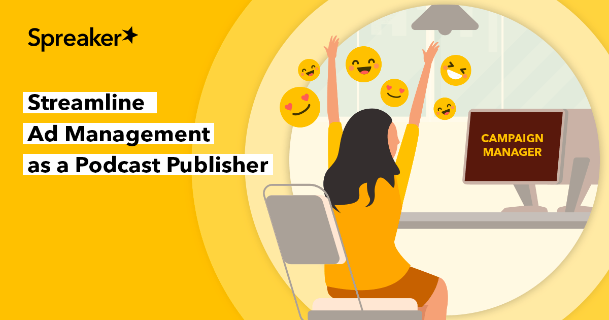 Looking for an easier way to manage ads on your podcast inventory? That's where Spreaker's Campaign Manager comes in! Now integrated into our CMS, the easy-to-use smart tool was built for podcast #publishers to traffic their own advertising campaigns: https://t.co/NOw12ZSYqj https://t.co/OUMA4Yu1Wy