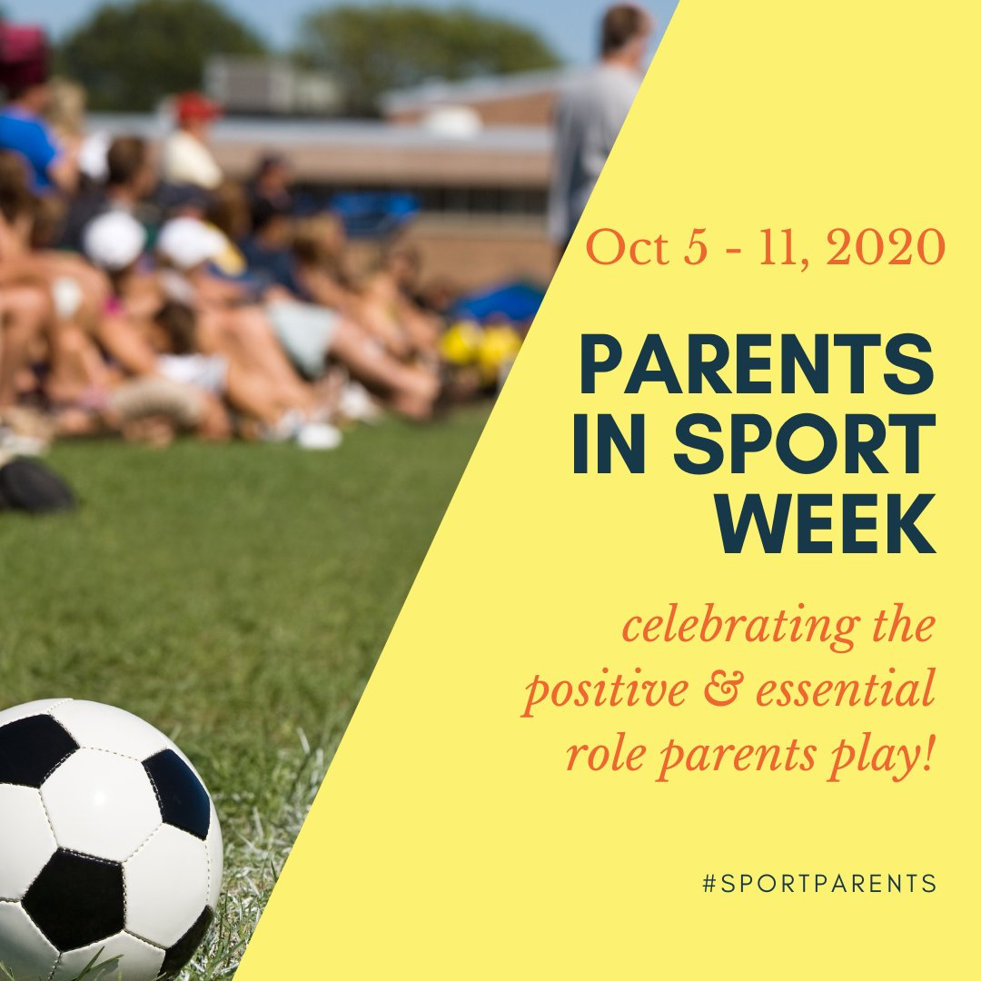 """Happy Parents in Sport Week!  Check out the Toolkit from Active for Life at https://t.co/9KVet9qLNC and this fantastic article on """"How to be a great sports parent"""" https://t.co/zpycwhEtFB  #sportsparent #PISW https://t.co/OdYvMz7QM1"""