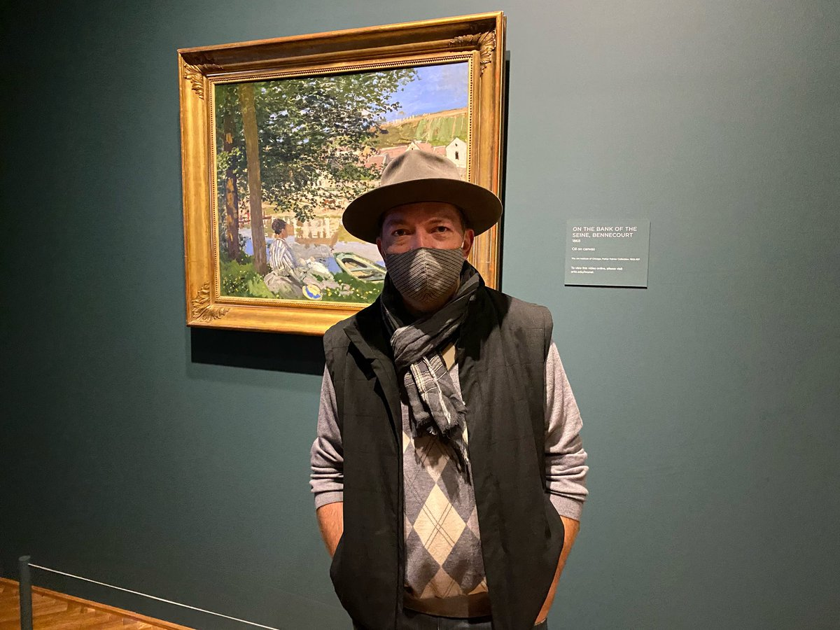 @artinstitutechi is one of those magical place that's perfect to visit during this unique time. #monet 🙏