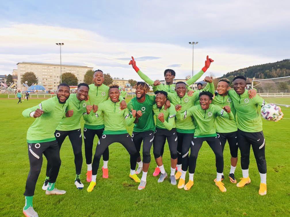 Wining team 💪🦅🇳🇬