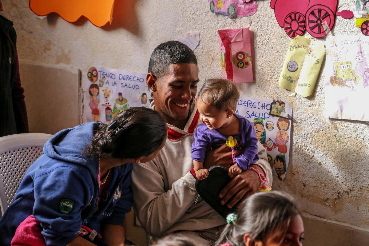 .@UNICEF agradece a la Embajada de Noruega el fortalecimiento de su alianza que permitirá brindar asistencia efectiva a los niños, niñas y adolescentes más vulnerables afectados por la migración venezolana, con foco en Ecuador y Colombia.  #AnteTodoSonNiños @NorwayMFA @noradno
