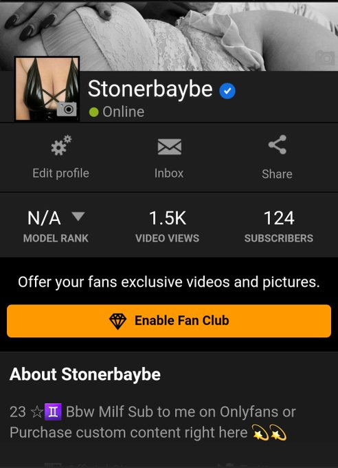 Officially part of the model program on Pornhub 💋🔥 Go check out my videos,  then maybe you'll decide
