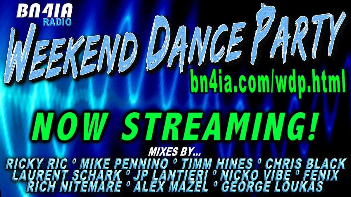 #NowStreaming❗#WDP438 @RickyRicMix @chrisblacknyc @DJTimmHines @lsselection @JPLantieri @djfenixofficial @Nicko_Vibe @GeorgeLoukas #AlexMazel #DJNitemare 🔊 https://t.co/uVy7AxiIFX  #DJs #mixshows #dance #RadioShow #DJSet https://t.co/gdYq9HwQr2