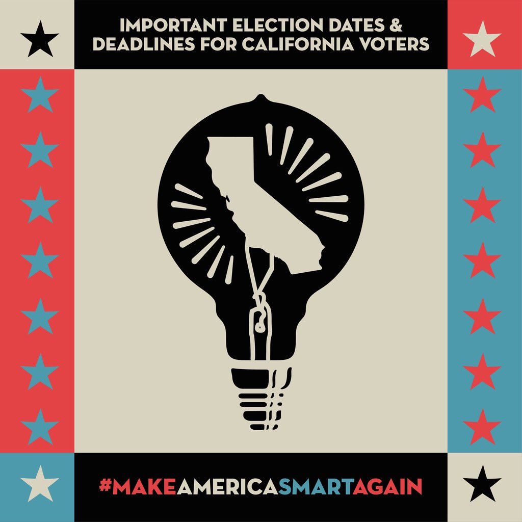 Hey #California! Check out our general election guidelines, where you'll find important deadlines, safe voting options, and info about how to track your ballot if you're voting in CA! If you're out of state, we also have resources for you too! Visit: https://t.co/syV4e5bXXc https://t.co/47ikaDD2nB