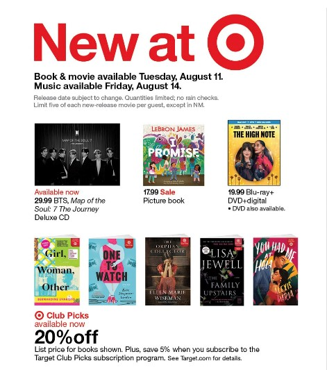 Thanks to @Target Book Club USA for picking GWO!