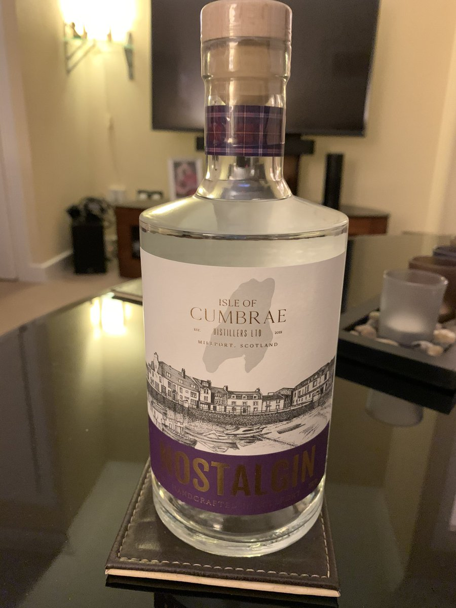 Happy Tuesday thank you @Geraldos_Largs , well done @CumbraeGin , this looks awesome