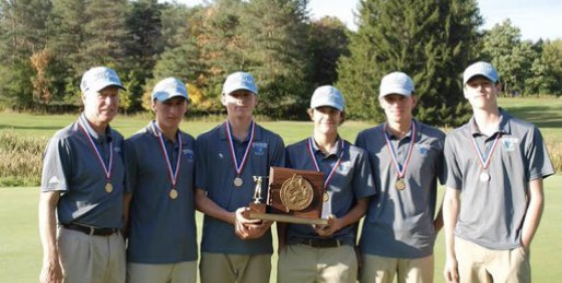 test Twitter Media - Today in Wildcat history 10.6.18 York wins first of back to back Class B state championships. Tyler & Willis Rivers, Trevor Lavigne and Brady & Chris Cummins lead the Wildcats at Natanis GC to York's 1st state championship since 2012 ! @YHSWildcats https://t.co/jxbHYzti2A