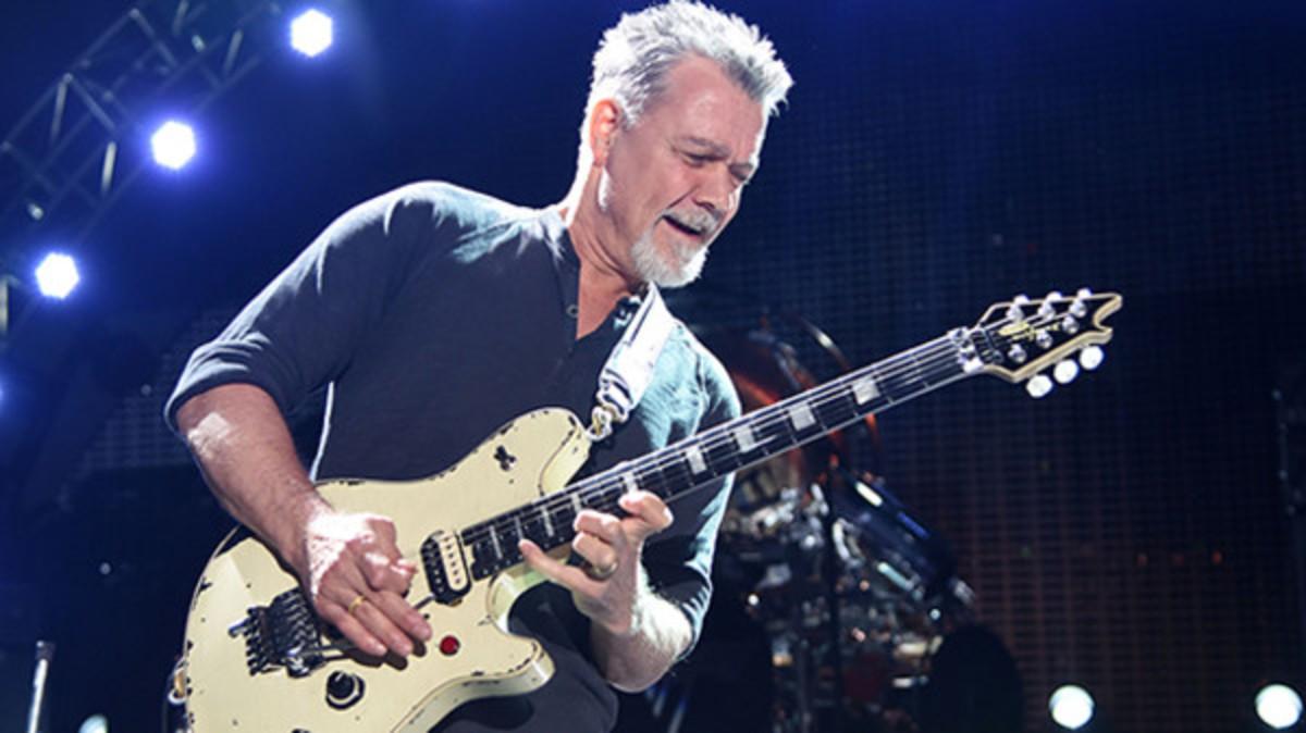 RIP Eddie Van Halen. A true giant. #EddieVanHalen
