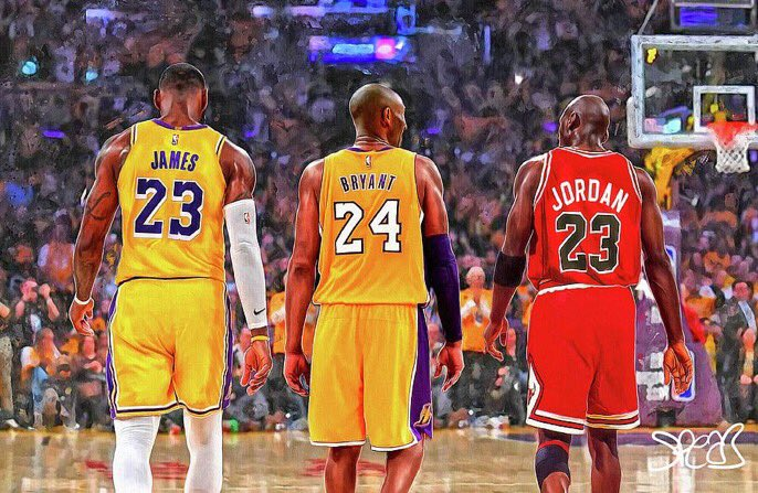 Replying to @HoopMixOnly: THE THREE GREATEST EVER.