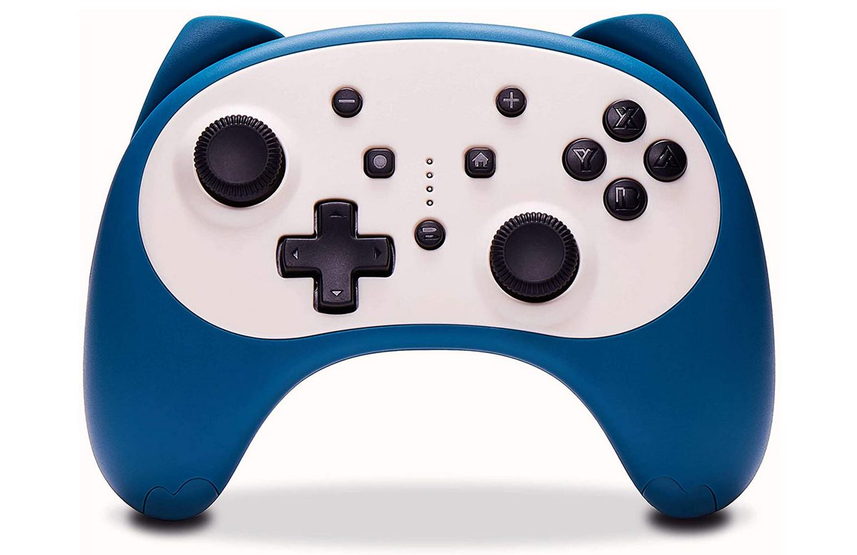Snorlax Wireless Pro Controller for Nintendo Switch Console Amazon Lightning Deal Starts in 35 Minutes (Prime Only at First).