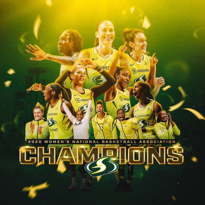 WNBA – Le Seattle Storm vincono il Titolo 2020, il quarto della loro storia