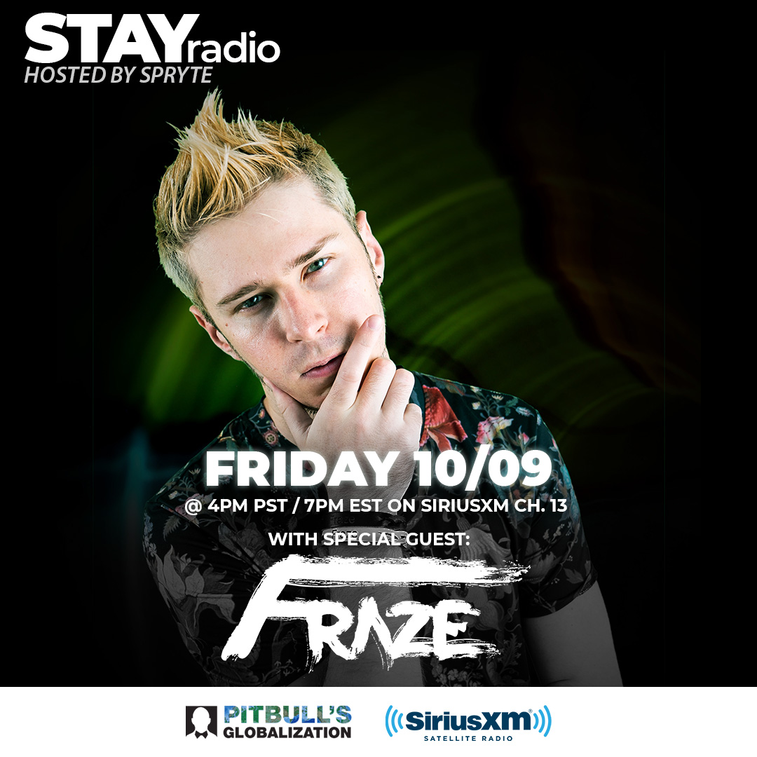 Got Seattle based remix powerhouse @ItsFraze on the show this Friday! Tune in to Globalization Channel 13 (SiriusXM) at 4pm PST / 7pm EST. https://t.co/gKAEee59qT