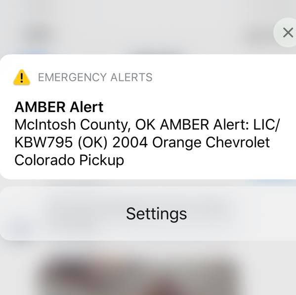 Abigail Ogle On Twitter Share Now Oklahoma Amber Alert Orange Chevy Pickup Kbw795 Working To Get More Info Right Now Standby