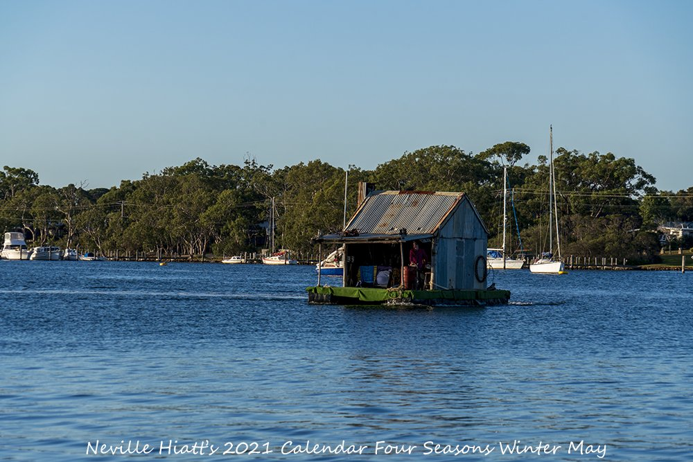 Here's ur first look at my Limited Edition 2021 A4 Calendar Four Seasons #Winter Only while stock last #LakeLife #AustralianHumour #TinShed #FloatingTinShed #AustralianPhotographer #Islandlife #VisitGippsland #GippslandLakes #SupportLocalArt #BuyLocalArt #Photo #BlueSky #Serenity https://t.co/WqDBHtB42Z