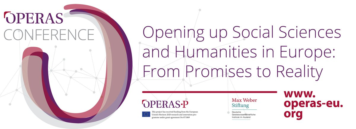 "[#OPERAS2020] Registration is open:  ""Opening up Social Sciences and Humanities: From Promises to Reality"", November 2-4, 2020, virtual event. Registration is free at https://t.co/vJXgfqEhnx #openscience #openaccess #scholcomm #SSH #HSS #OA #researchimpactEU #EU https://t.co/4n6XGexZKs"