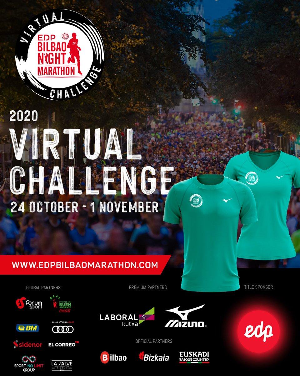 Mizuno será un año más el patrocinador técnico de la EDP Bilbao Nigth Marathon. La prueba de 2020 será en formato virtual y al inscribirte puedes conseguir la camiseta oficial de Mizuno, diseñada para la carrera. ▶️https://t.co/BwMFBrkOd9  @BilbaoMarathon #Mizuno #EDPBNM20 https://t.co/WmmACeYzCp