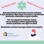 Image for the Tweet beginning: #Korona #lapuankansalaisopisto #kansalaisopisto #lapua #taiteenperusopetus