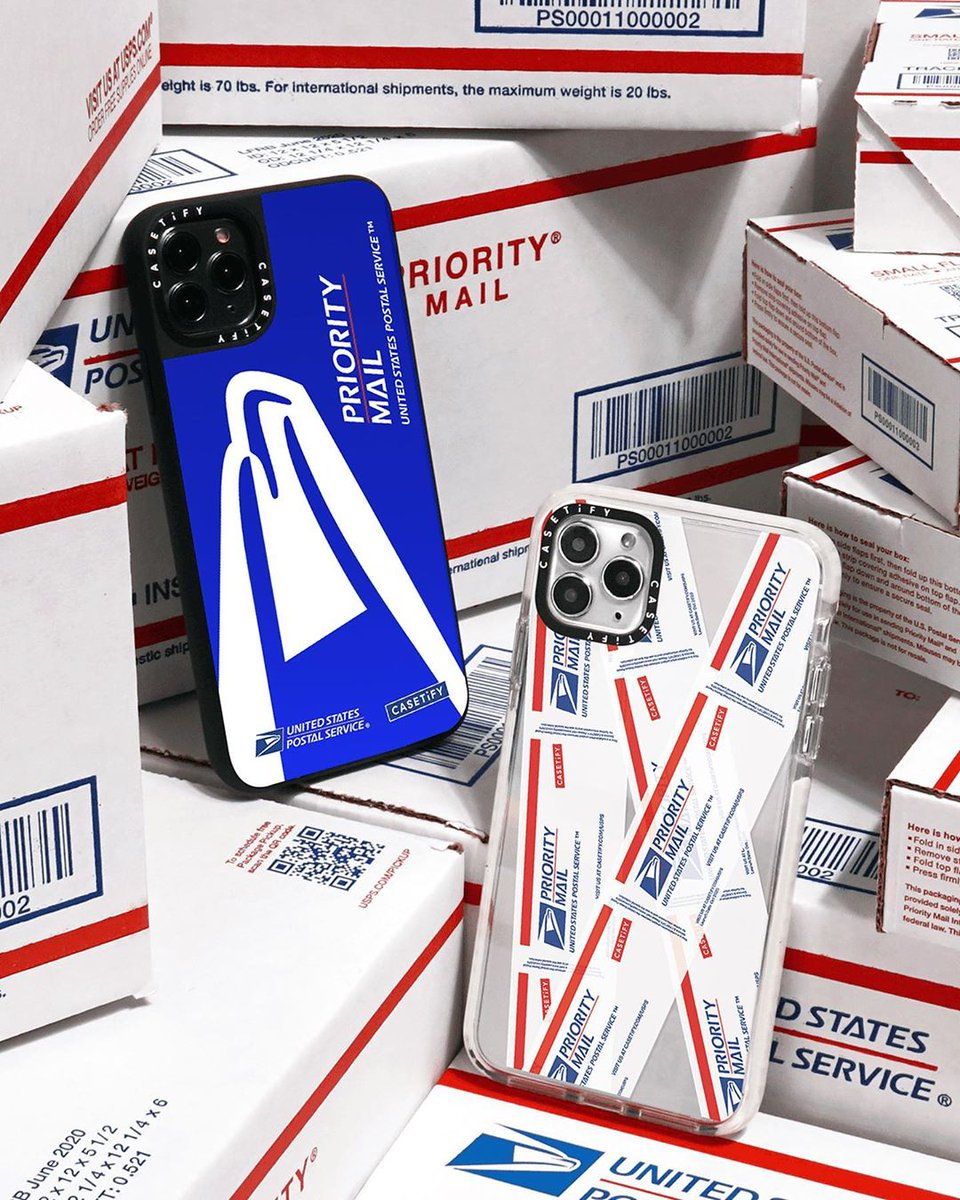 You've got mail! 📫 USPS x #CASETiFY, an extra special collection inspired by 245 years of history is HERE! Cop your favorite items, including a limited-edition USPS fan club sweatshirt available now for pre-order! 📦  🛒 ⠀ #USPSxCASETiFY