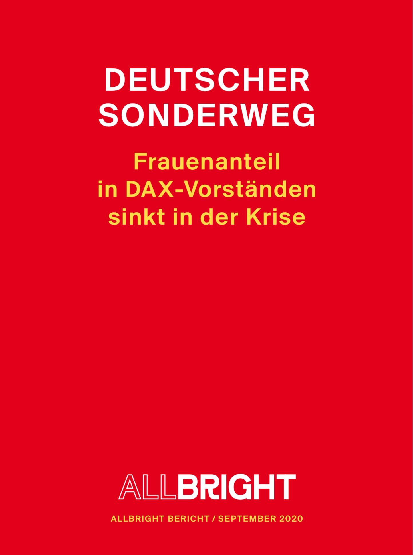"""Thomas Wüst a Twitter: """"Deutscher Sonderweg in #Coronakrise:Lt.  @AllBrightGer ist der Frauenanteil im DAX auf 12,8% gesunken📉😖. Mit  #Ceconomy & #Dermapharm befinden sich nur noch 2 von 160 Firmen aus  #DAX,#MDAX & #"""
