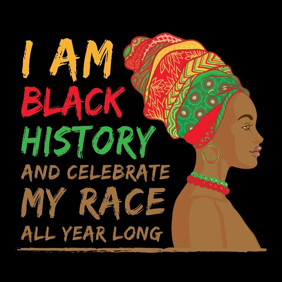 We are more than just a month! 🖤 . #BlackHistoryMonth #BlackHistoryYear #BlackIsBeautiful #BlackPride #Blacktober #Blacktober2020 #Black #BlackExcellence #BlackHistory #BlackRoyalty  #StrongBodyStrongMind