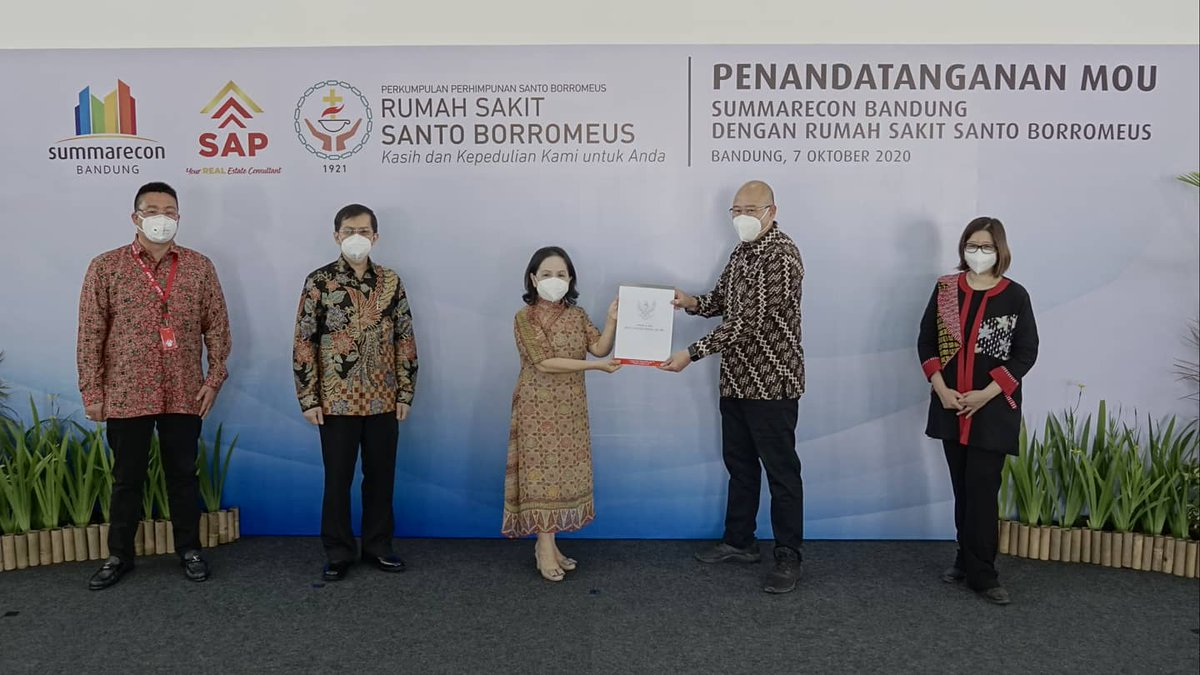 Rumah Sakit Santo Borromeus Segera Hadir di Summarecon Bandung  #SBDinfo #SummareconBandung #rsborromeus  https://t.co/oPtlk4GZL4 https://t.co/8X33tPIsrM