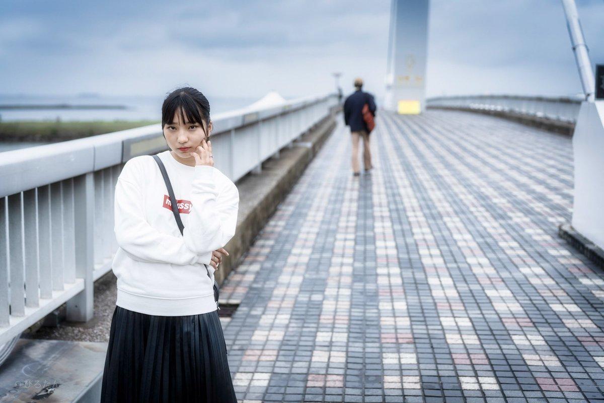 かなちゃん🍓#KANA @KANA0726_ #kawaii collection#葛西臨海公園 #ポートレート  #portrait  #撮影会