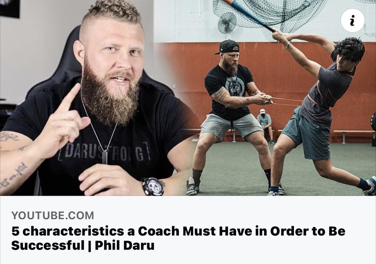 5 Characteristics a Coach Must Have in Order to Be Successful   Phil Daru https://t.co/z4oXsGqPjz via @YouTube https://t.co/TpIYn0KYFL