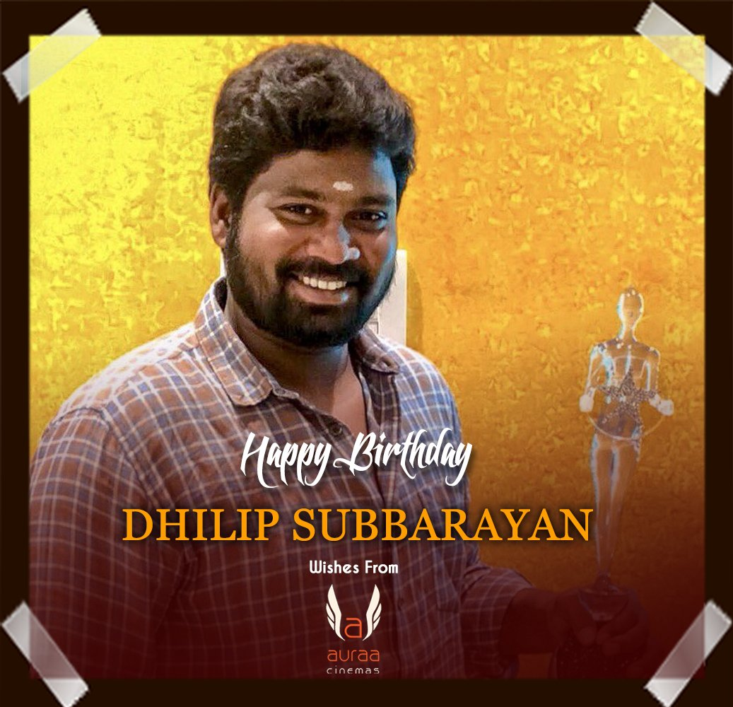 Happy Birthday to the talented & Passionate Action director  @dhilipaction  💐❤ https://t.co/TJsEbPYyvx