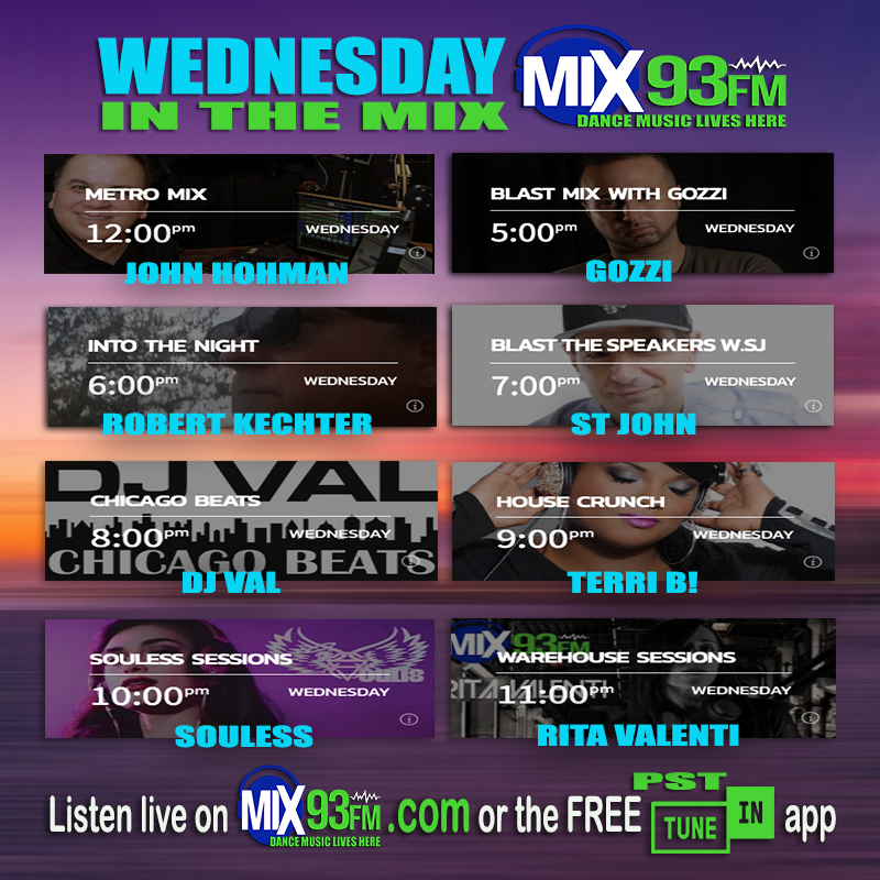 Wednesday #Mixes on #LosAngeles based #BdsRadio #DanceStation https://t.co/ZAdSHH07NQ or look for #Mix93fm on FREE TuneIn app #CommercialFree #Mixes #DanceMusicLivesHere https://t.co/V6HfAVqJGW
