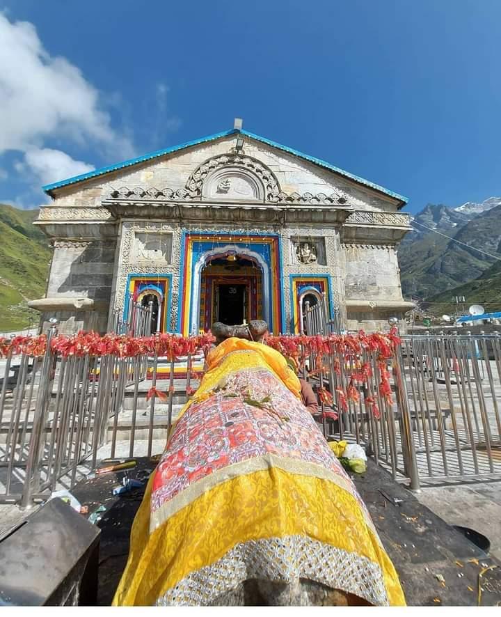 ।। #जय_भोलेनाथ ।।  🙏😍#Kedarnath_Temple  #Uttarakhand https://t.co/WYklgepq4c