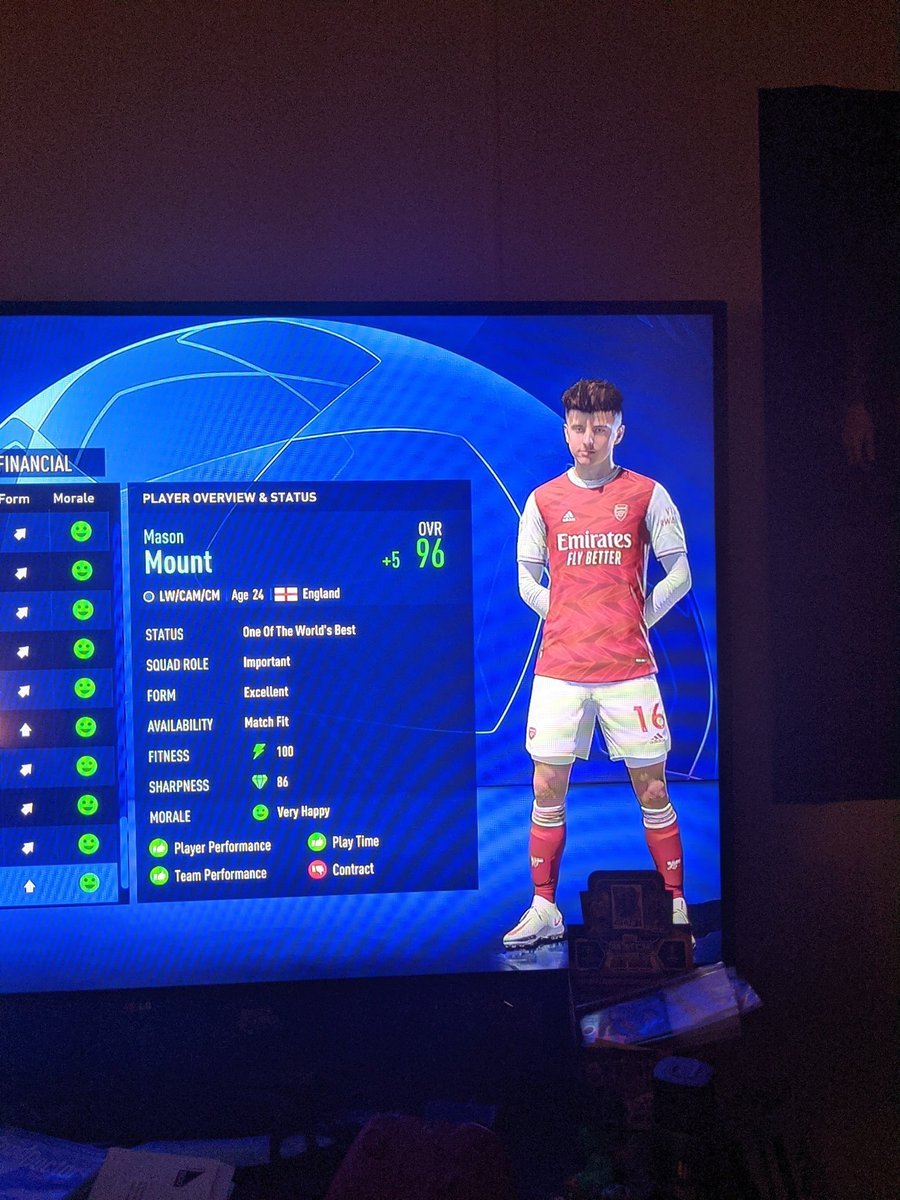 Just some examples of insane player growth in Career mode, this is at the end of the 3rd season... @MattHDGamer @CareerModeStars @CaniSports @JarradHD @OfficialS2G @TheMasterBucks @Cutzy_ @SparringDK @ChesnoidGaming https://t.co/GdNyELhAIW