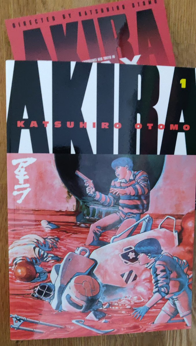 Mr Midas Blacklivesmatter On Twitter Just Got Back From The Watching My Favourite Anime Movies Ever Akira 4k Remaster Imax And Came Home To This Incredible Manga Comic Beautiful Thank You Mangauk